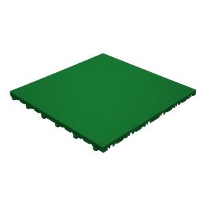 Klickfliese Lederoptik grün